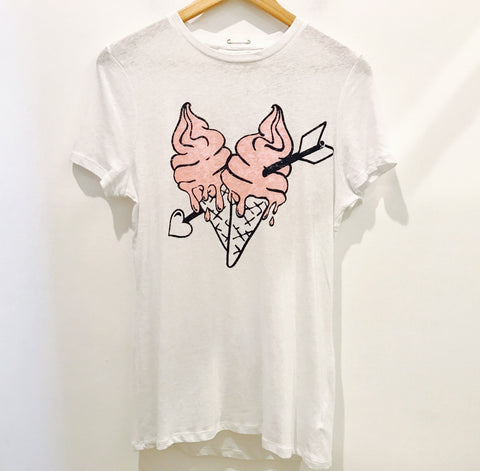 ICE CREAM LOOSE FIT TEE