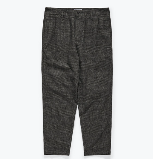 Downtown Check Pant | Dirty Black