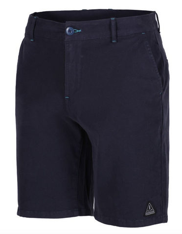 RIDGE NAVY SHORTS