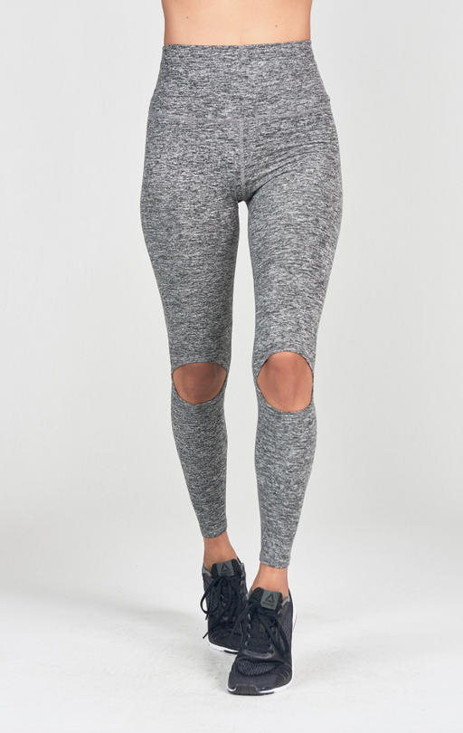 Cut Loose Legging | Marled Grey