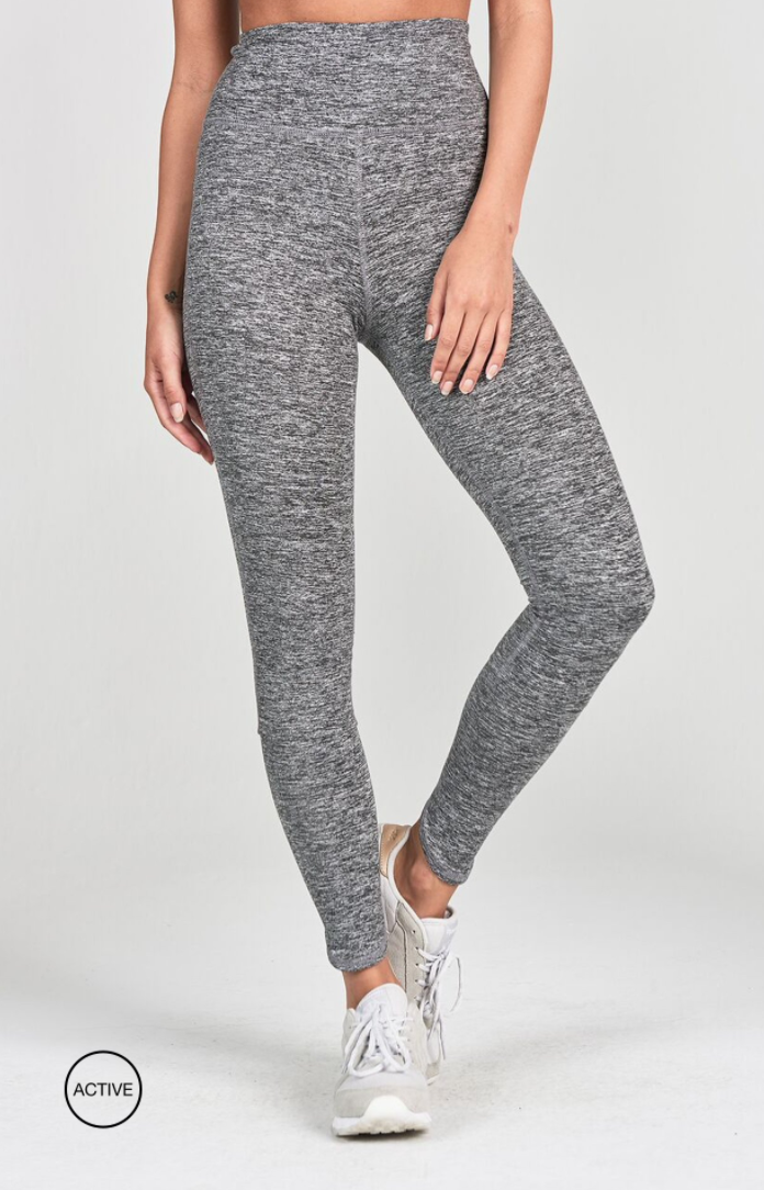 Lift Legging | Marled Grey