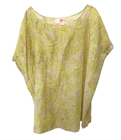 Yellow Frond Kaftan