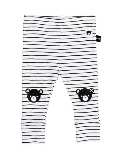 Stripe Skinny Legging | Black Bear
