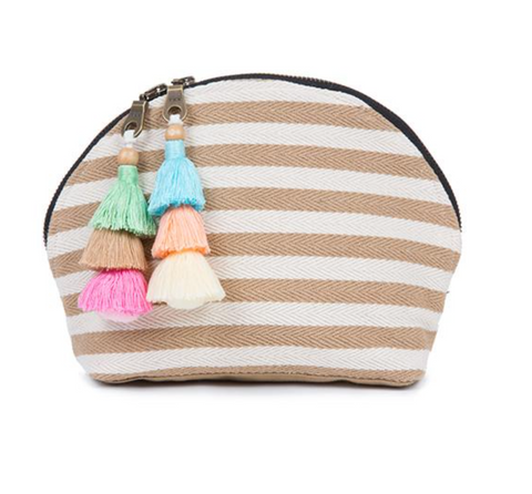VALERIE COSMETIC BAG X SAND