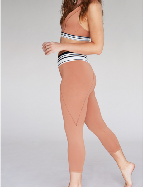 ALMA 3/4 LEGGING x TERRACOTTA