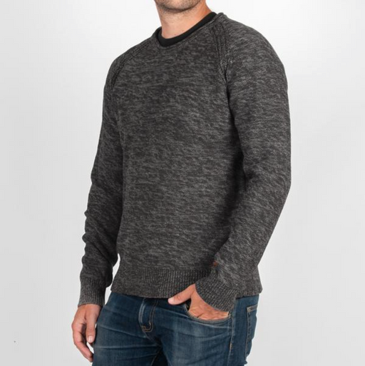 Birched Knitted Sweater | Charcoal