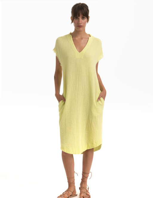 Cusp Dress l Citrine Mesh