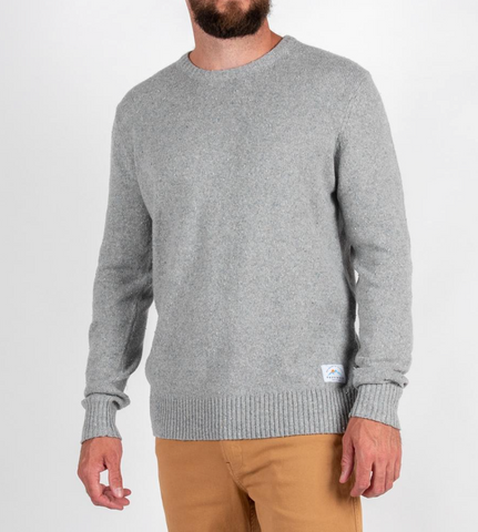 POURRI KNITTED SWEATER | GREY