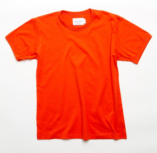 Ringer Tee | Orange/Red