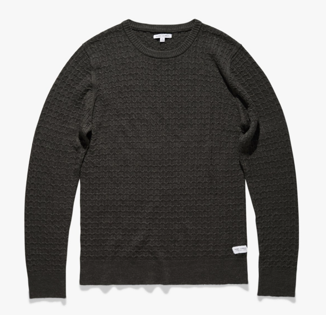 Progress Knitwear | Heather Black