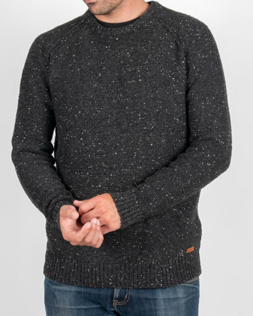 Cairn Knitted Sweater | Charcoal