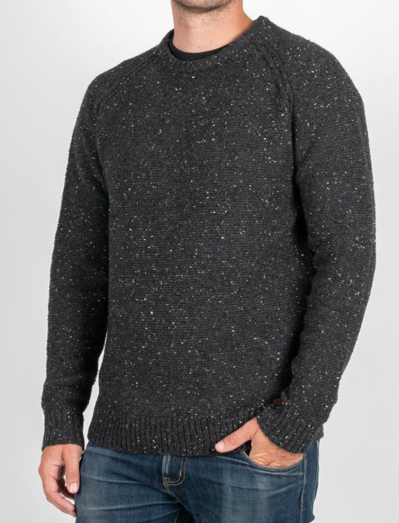 Cairn Knitted Sweater | Black