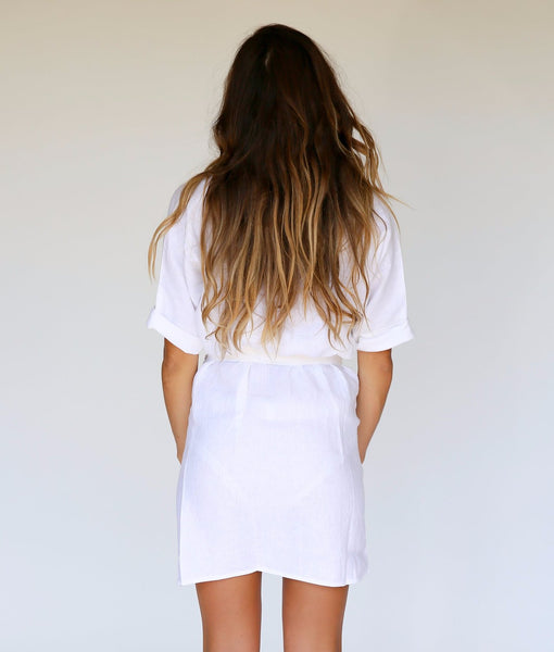LUISA DRESS x WHITE