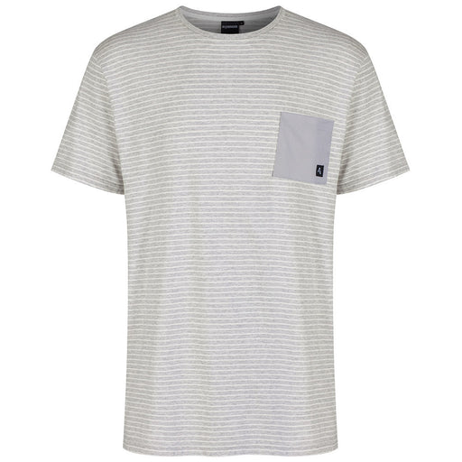 The Captain Tee | Grey Stripe