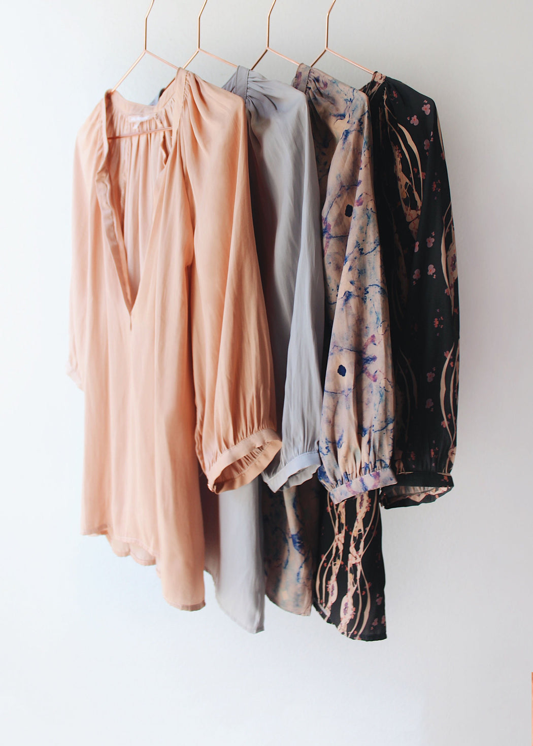The Moroccan Top | Nude Silk