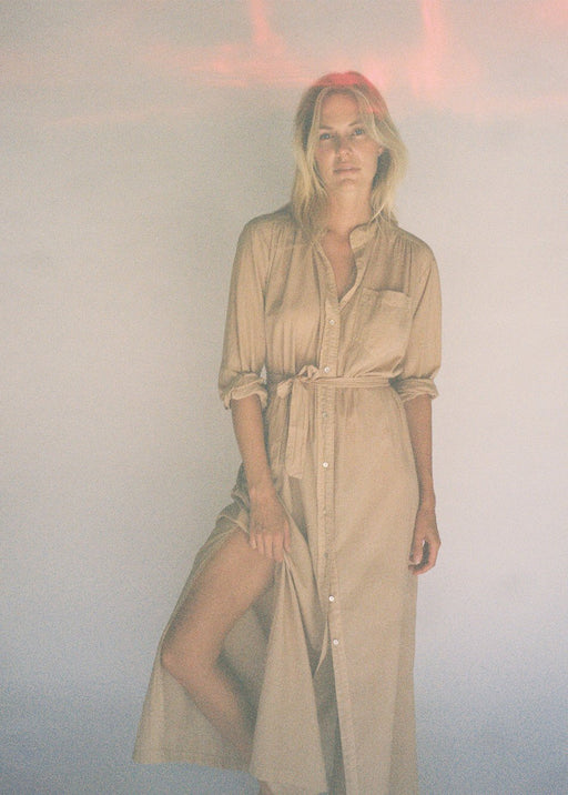 Shirt Dress| Safari