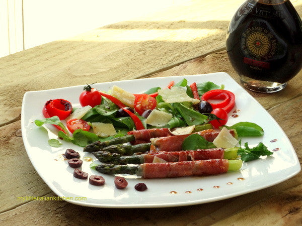 Asparagus with Parma Ham and Balsamic Vinegar
