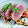 Spice-Rubbed Seared Tuna Steaks with Balsamic