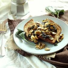 Savoury Mushrooms on Toast
