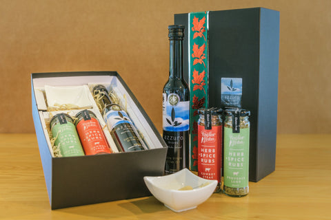 Image of Olive oil with 2 rubs selected from the range