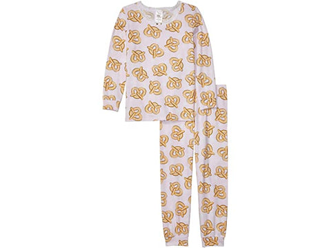Pretzels Long Sleeve Full Length Set