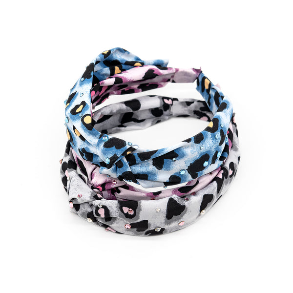 Colorful Leopard Knot