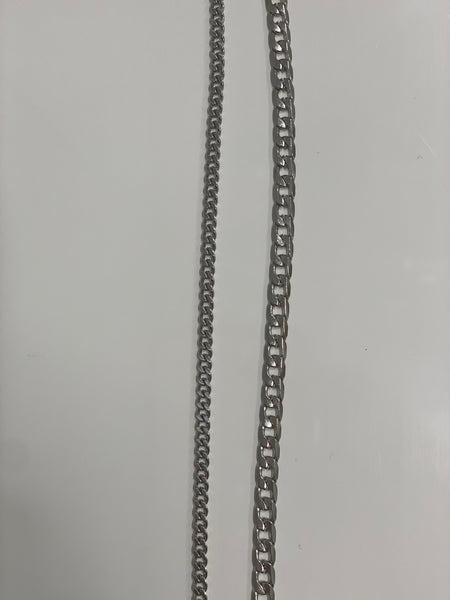 SILVER Metal Mask Chains