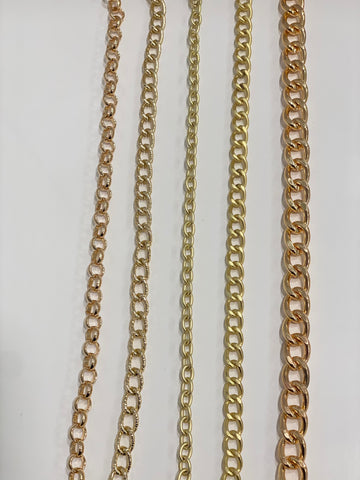 GOLD Metal Mask Chains