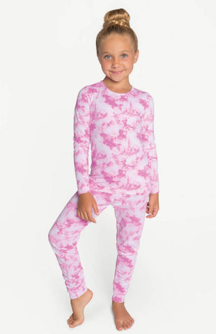 Pink Galaxy Pajama Set