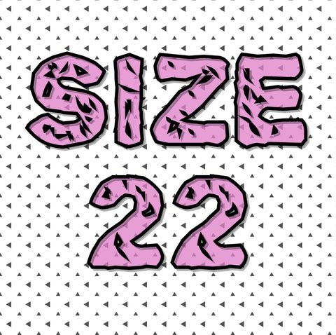 Size 22 (6/6.5)