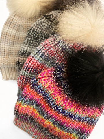 Soft Chunky Knit Hat