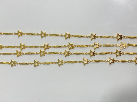 STARS Metal Mask Chains