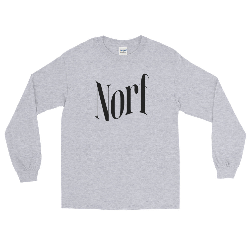 "North ""Norf Logo"" Long Sleeve T-Shirt"