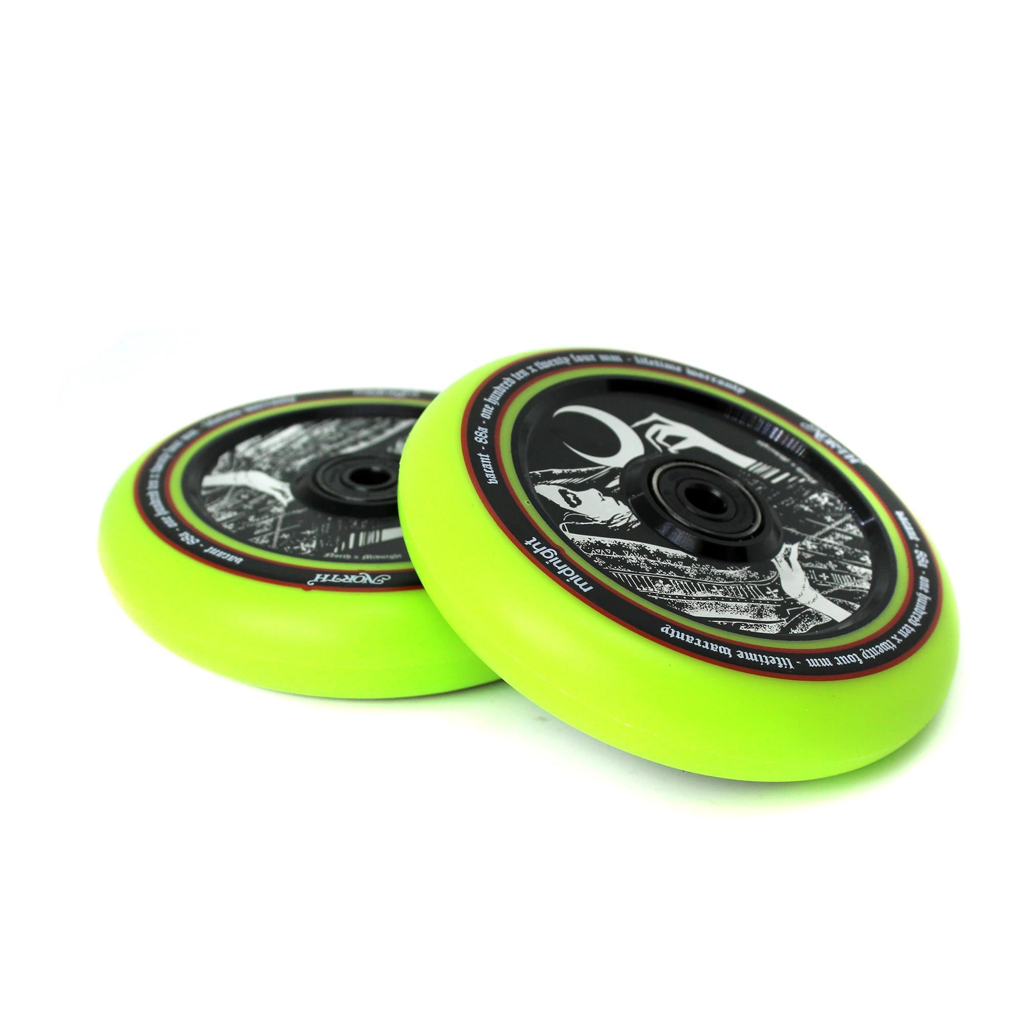 North Scooters Midnight Collab Wheels – 110 x 24mm