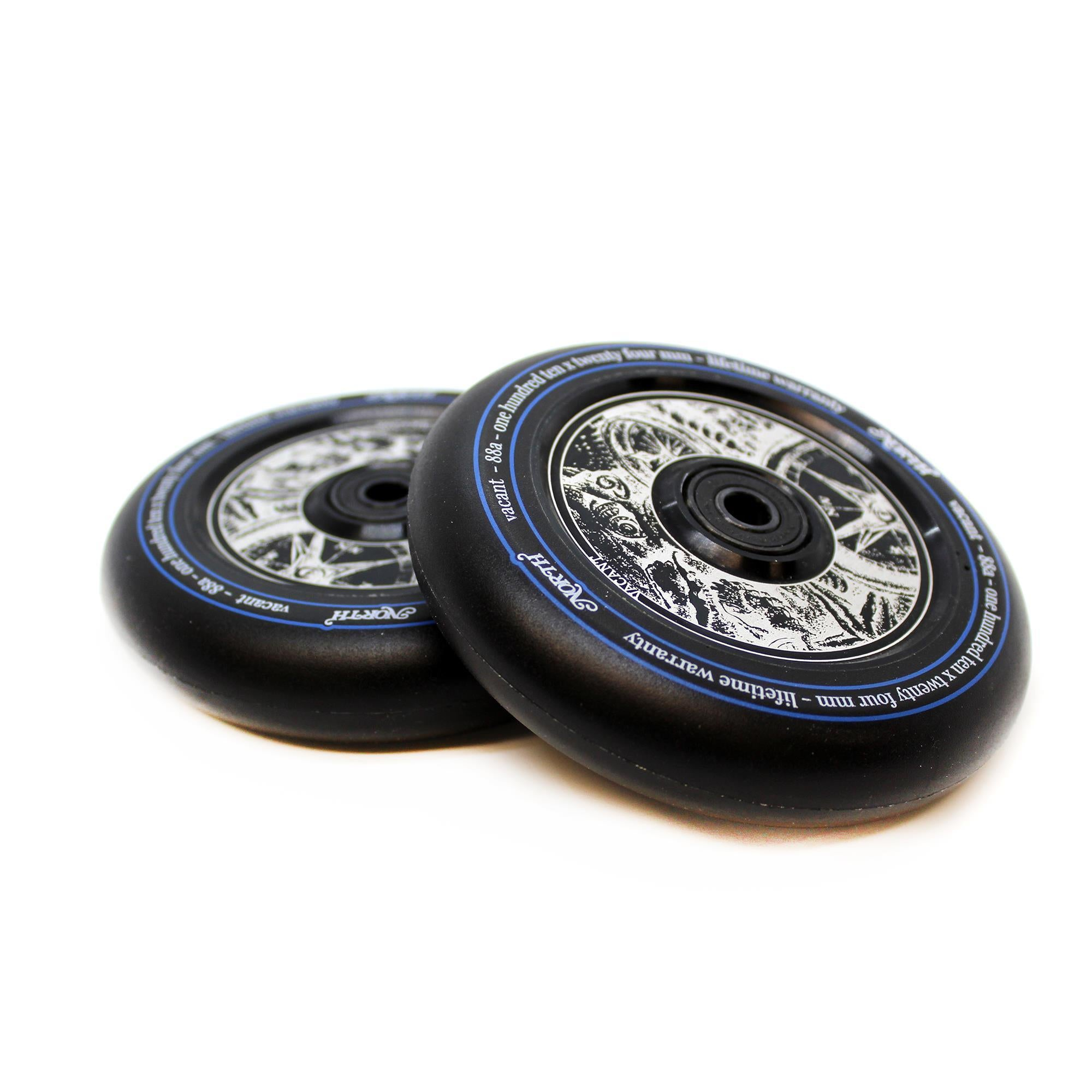 North Scooters Vacant Wheels- 110 X 24mm