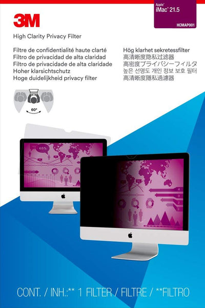 "3M™ - High Clarity Privacy Filter for 21.5"" Apple® iMac® (21.5 Inches)"