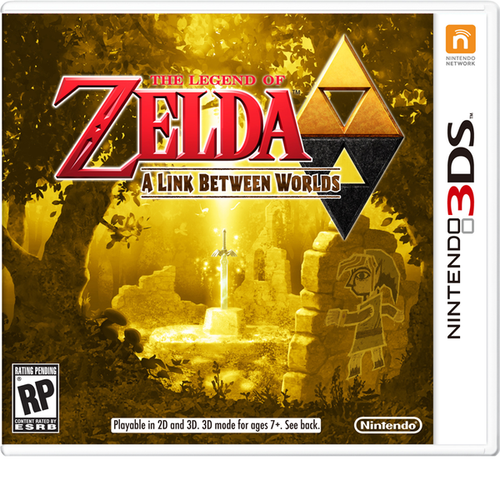 3DS LEGEND OF ZELDA : A LINK BETWEEN WORLDS