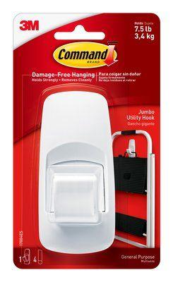 3M Combo ( 3M Command Designer Small Hook, 3M Command Jumbo Hook, 3M Command Utensil Hook)