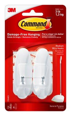 3M Combo (3M Command Medium wire Hook, 3M command Designer Medium Hook, 3M command Medium Hook)