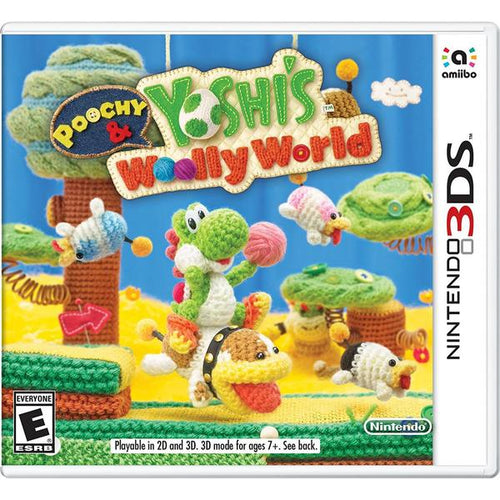 3DS POOCHY & YOSHI'S WOOLLY WORLD