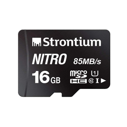 STRONTIUM 16GB New Nitro 85 mbps with Adapter
