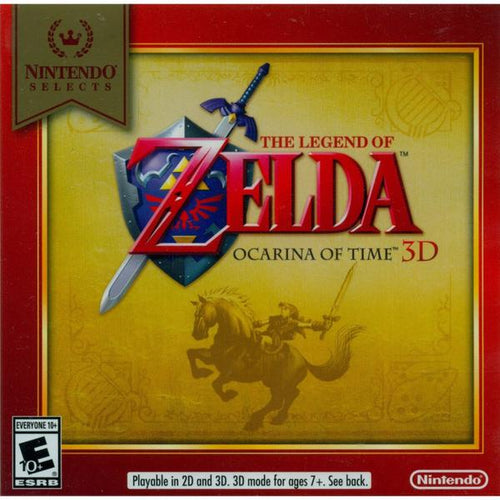 3DS THE LEGEND OF ZELDA: OCARINA OF TIME 3D