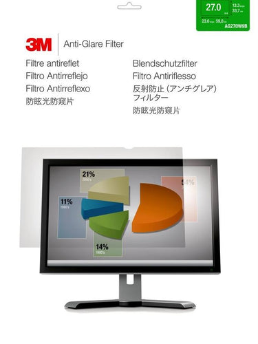 3M™ - AG27.0W9 Desktop Anti-Glare Filter