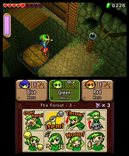 3DS THE LEGEND OF ZELDA: TRIFORCE HEROES