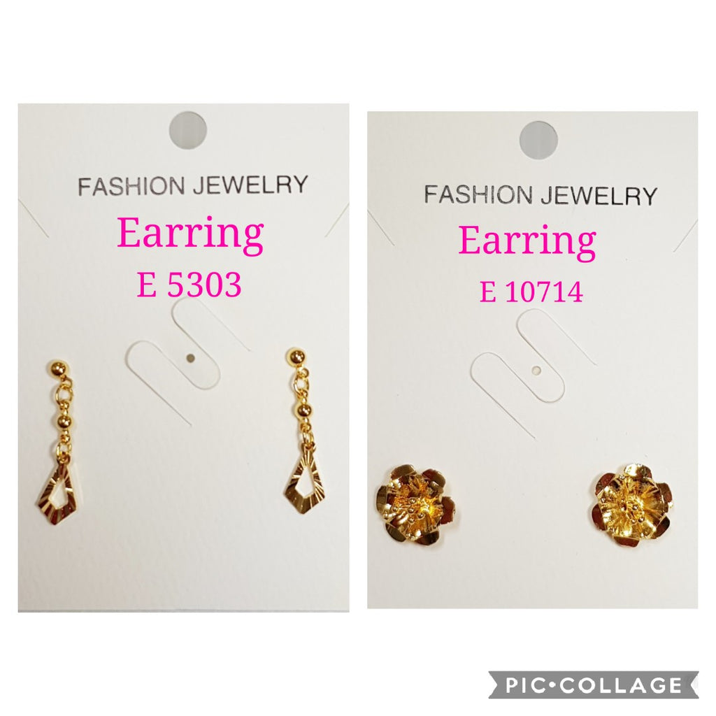 2 in 1 Earrings - E 10714/E 5303