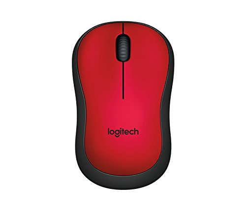 Logitech WIRELESS M221 SILENT RED
