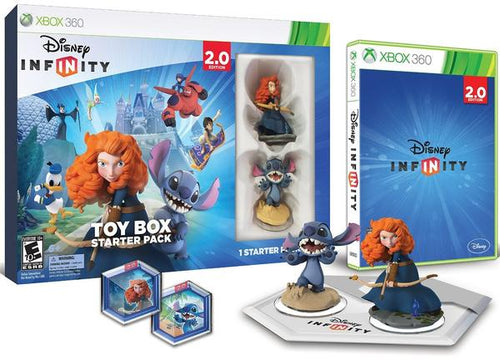 XB360 DISNEY INFINITY 2.0 TOY BOX STARTER PACK