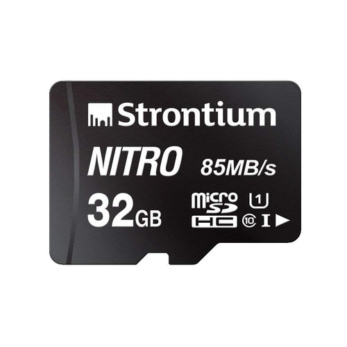 STRONTIUM 32GB New Nitro 85 mbps with Adapter