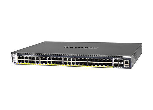NETGEAR 48-Port Fully Managed Switch M4300-52G-PoE+1000W