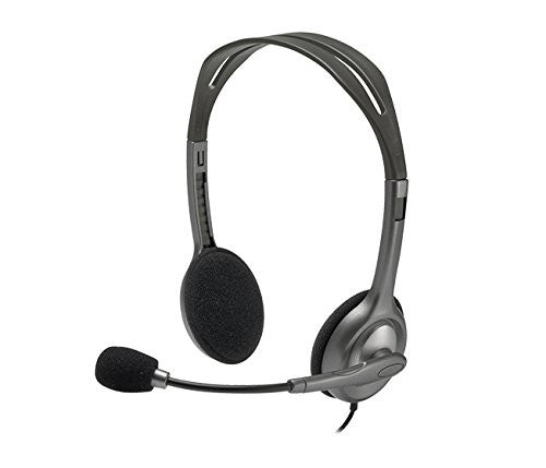 Logitech Stereo Headset H111 - Silver